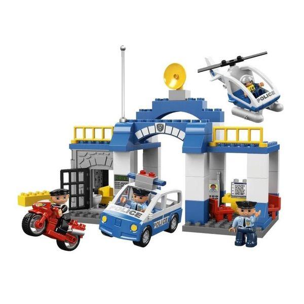 Ils s'éclatent avec Lego Duplo + 1 poste de police à gagner