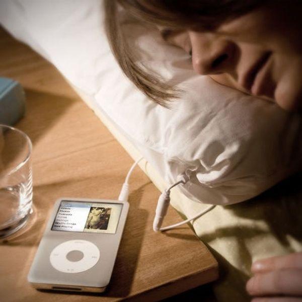 Un oreiller avec haut-parleur intégré iMusic + 1 à gagner
