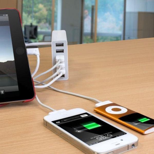 Le Hub Olixar 6 ports USB par Mobilefun.fr