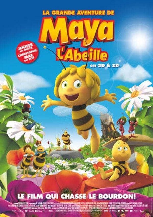 Sortie Ciné: La grande aventure de Maya l'abeille.