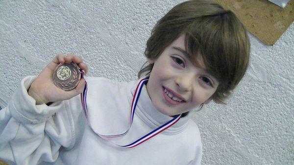 Les enfants,le sport et l'escrime