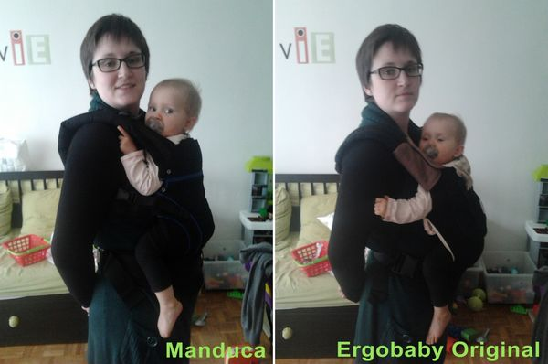 Manduca vs Ergobaby: le match