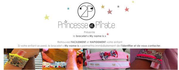 Le bracelet Princesse et pirate testé et approuvé par notre petite famille ! l