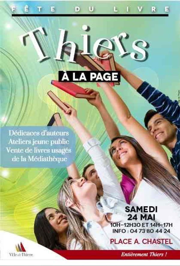 La première fête du livre à Thiers !