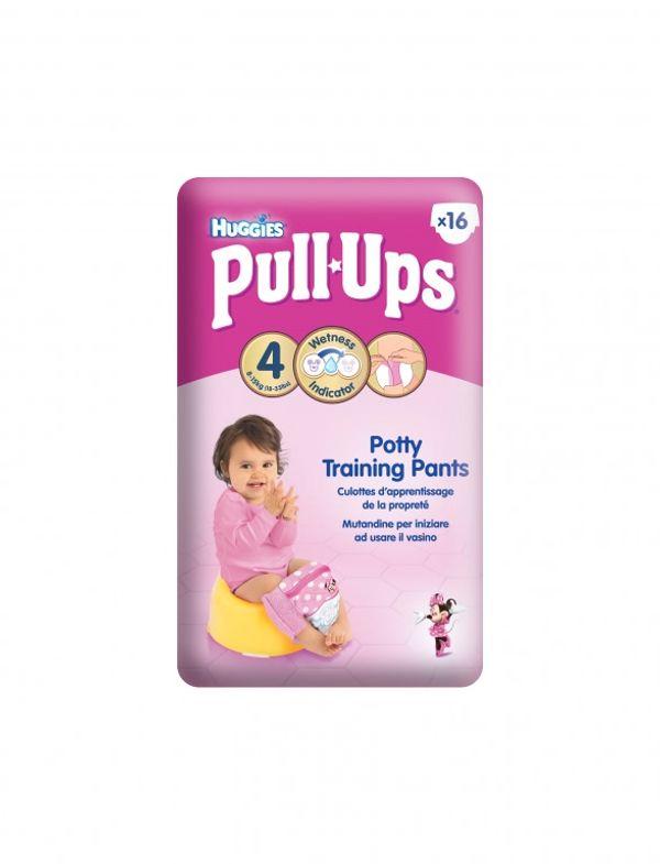 les culottes d'apprentissage Huggies Pull Ups!