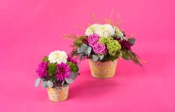 6 mars 2016 on pense à nos mamies avec Oya Fleurs