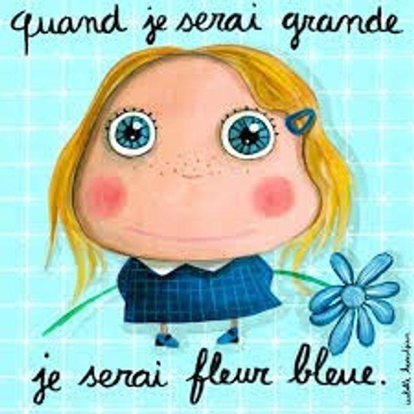 je ne suis pas fleur bleue