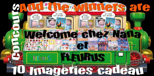 And the winners are ...(Concours FLEURUS)