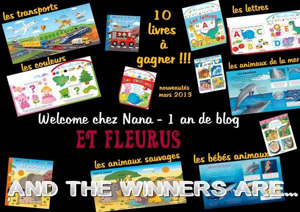 Qui a gagné les 10 livres FLEURUS ?