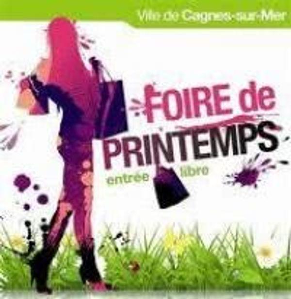 Foire de Printemps dimanche 06 avril 2014 à Cagnes-sur-mer