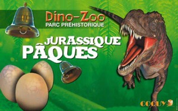 Jurassique Pâques au Dino Zoo / Charbonnière les Sapins