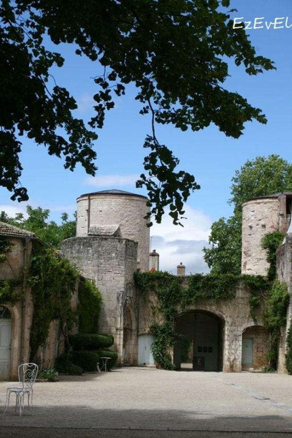 Le château de Germolles, autour de Chalon sur Saone