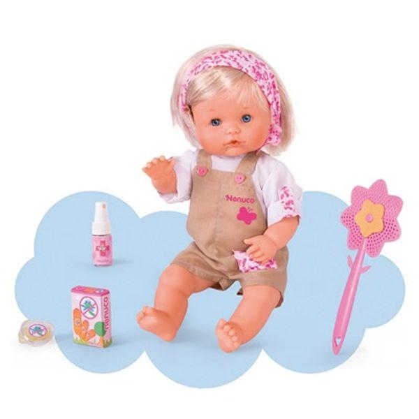 Apprendre à soigner avec Nenuco + 1 poupée piqûres de moustique à offrir :)
