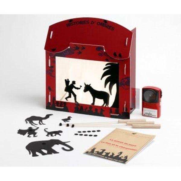 Un véritable coup de coeur : Coco d'en Haut, créateur de théâtres d'ombres, une belle idée de cadeau pour enfant !