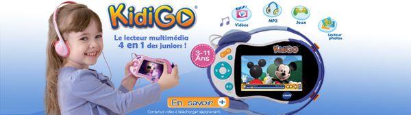 Une nouveauté chez VTECH : Le KIDIGO + Concours pour en gagner un !