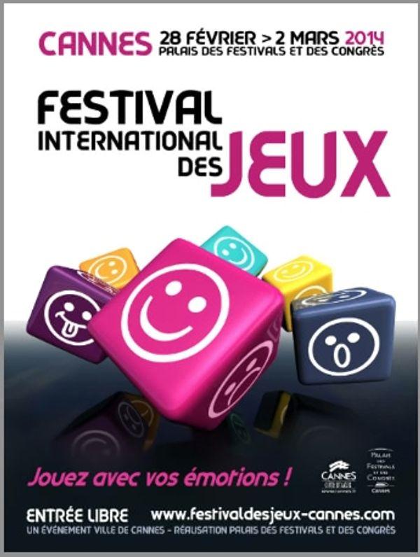 28e Édition du FESTIVAL INTERNATIONAL DES JEUX DE CANNES / 28 Février-2 MARS 2014