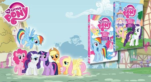 My Little Pony: ses nouvelles héroïnes + 2 DVD à offrir
