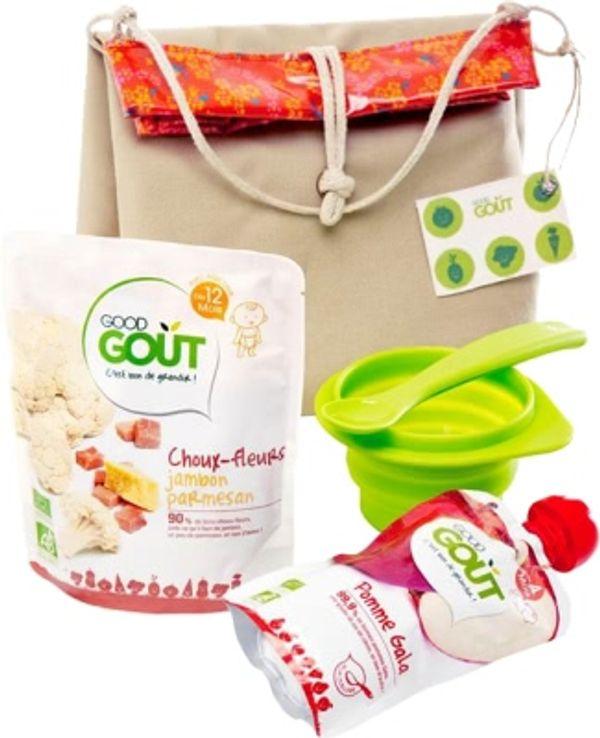 La Lunch Box Bio de Bébé avec Good Goût + 1 à offrir