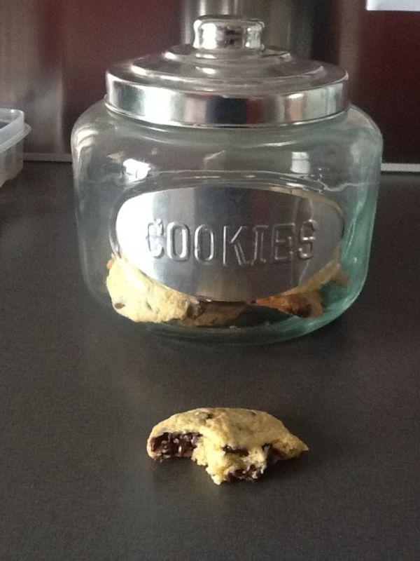 Aujourd'hui c'est cookies!