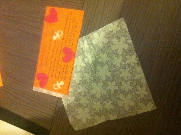 Mon premier bouts de tissu pour mon Bai jia Bei