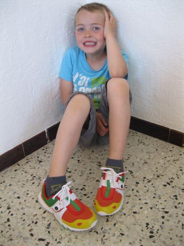 Glagla shoes, la chaussure qui garde nos pieds aux sec :)