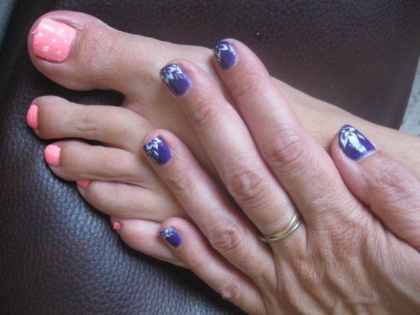 Mon nails art du jour :)