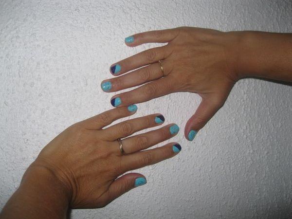 Mon Nail Art pour la rentrée :))