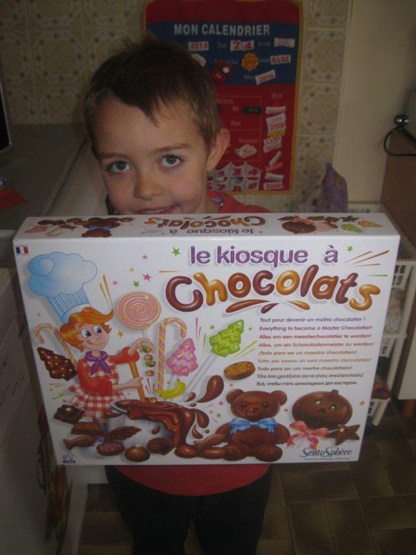 Des chocolats maison + code de réduction