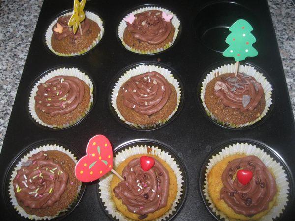 Mes nouveaux cupcakes!!!