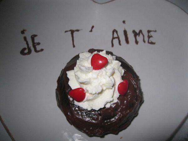 Mon repas de Saint Valentin!!!!!
