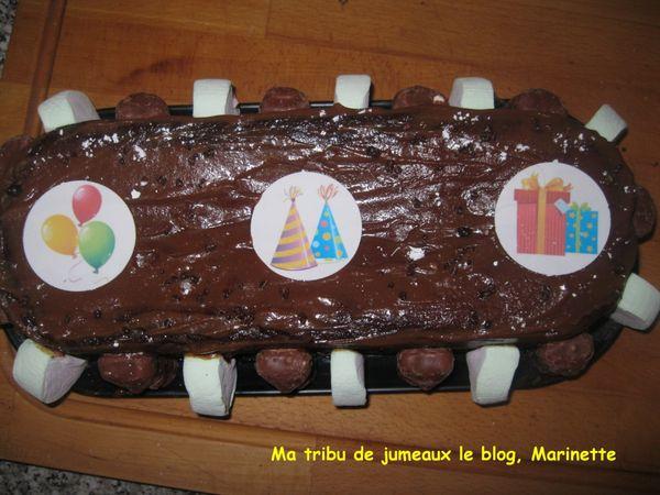 Les gâteaux d'anniversaire de l'école pour mon grand de 7 ans!!!