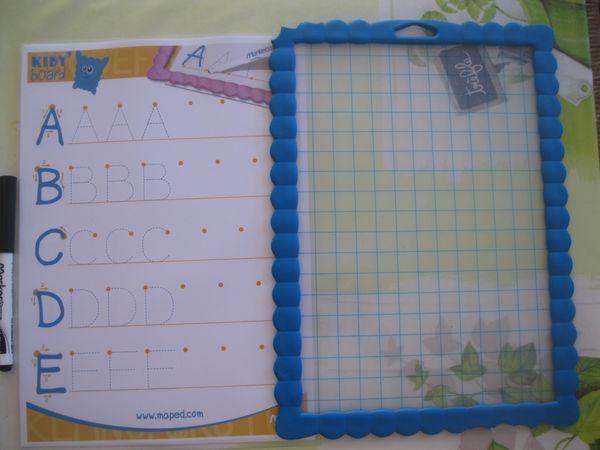 L'ardoise  Kidy'Board Maped est top pour apprendre en s'amusant+ concours