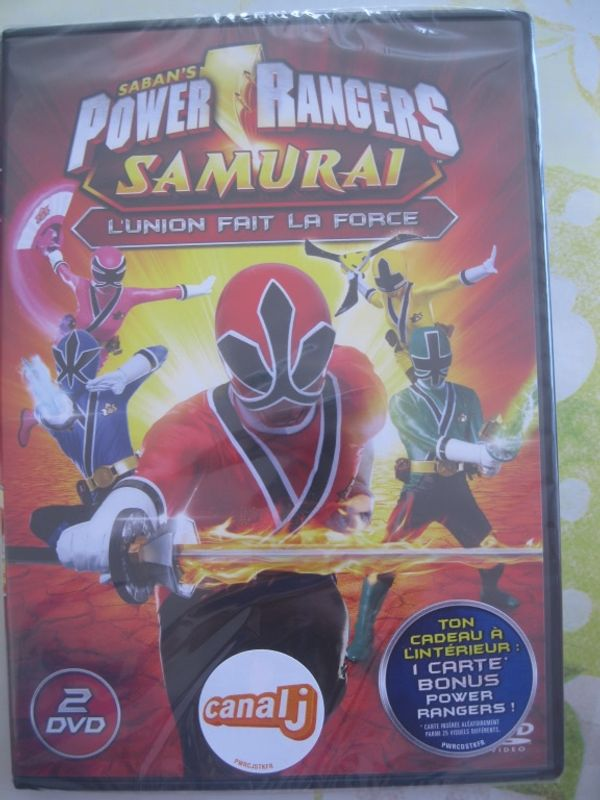 Power Rangers Samurai, tu connais?