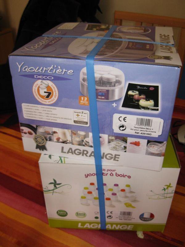 Ma yaourtière Lagrange, je l'aime d'amour (test + pas de cadeaux + billet pas sponso) :)
