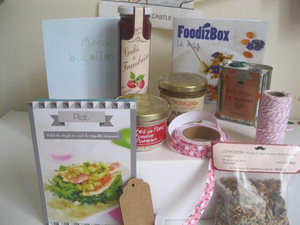 Ma FoodizBox est arrivée, viens voir un peu avec moi!!!