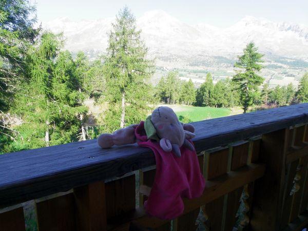 (Défi) Doudou en vacances: arrivée à la montagne