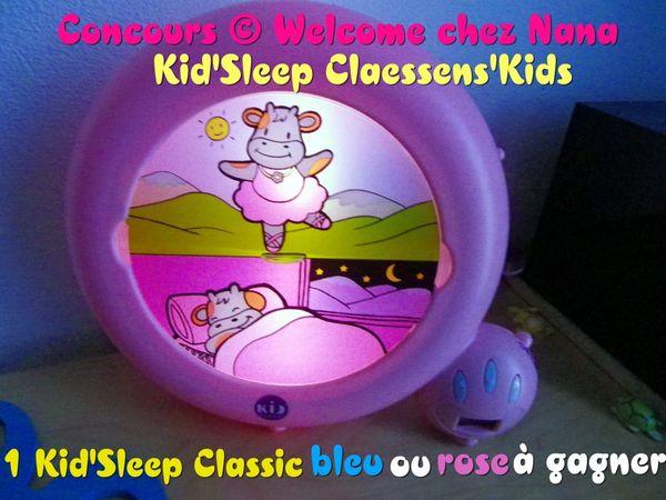 1 Kid'Sleep à gagner sur mon blog :) Merci Claessens'Kids!