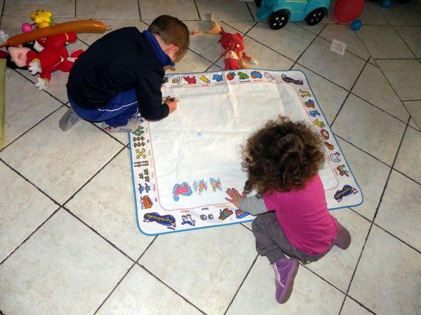 ACTIVITE: Le tapis magique / Covorasul magic