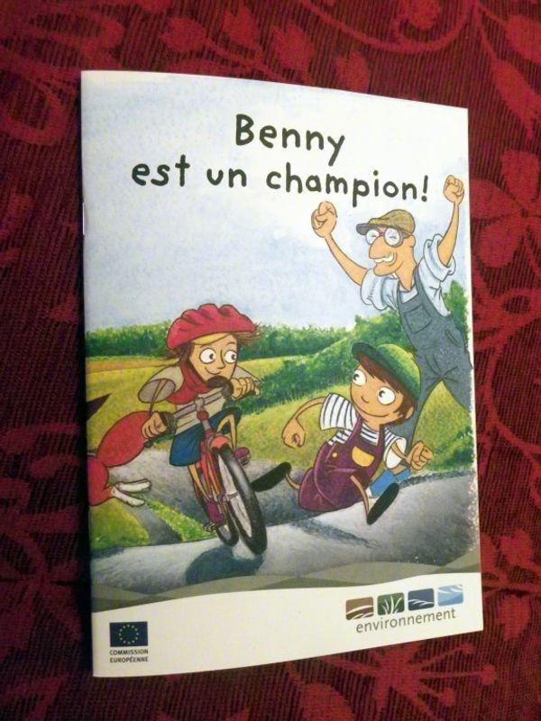 Livre gratuit: Benny est un champion!