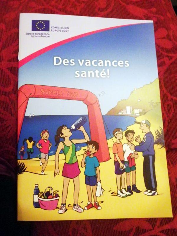 2e livre gratuit : Des vacances santé (BD)
