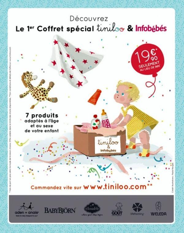 Box spéciale de novembre 2013 tiniloo et info bébé est arrivée!!!