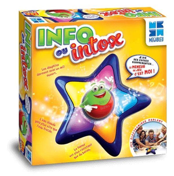 Info ou Intox, un jeu MEGABLEU + cadeau inside