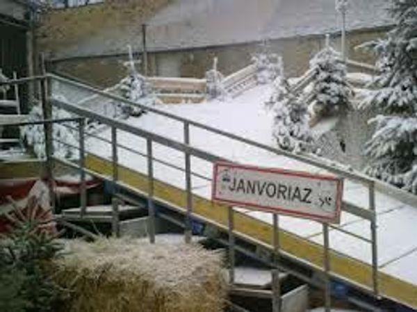 Janvoriaz : Une station de ski en essonne