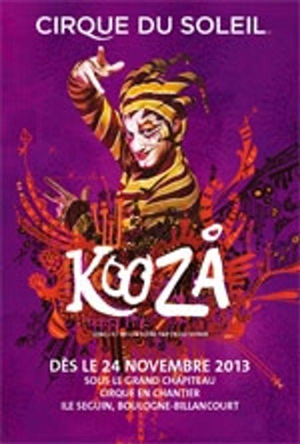 Spectacle Kooza par le Cirque du Soleil à Paris
