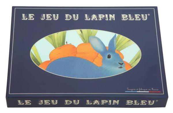 Une belle découverte et une surprise pour Pâques LE LAPIN BLEU A GAGNER