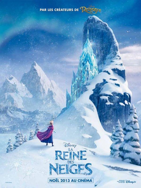 Un avant-goût de Noël avec la Reine des Neiges + BON PLAN ciné
