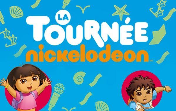 LA TOURNÉE NICKELODEON 2013