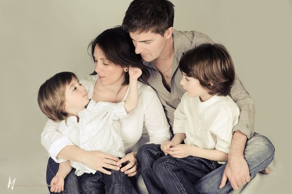 Ma petite famille en photo...