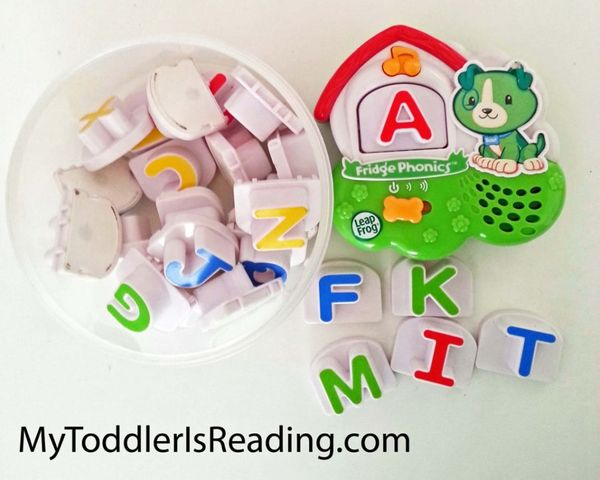 #LeapFrog : lettres de l'alphabet magnétique !!