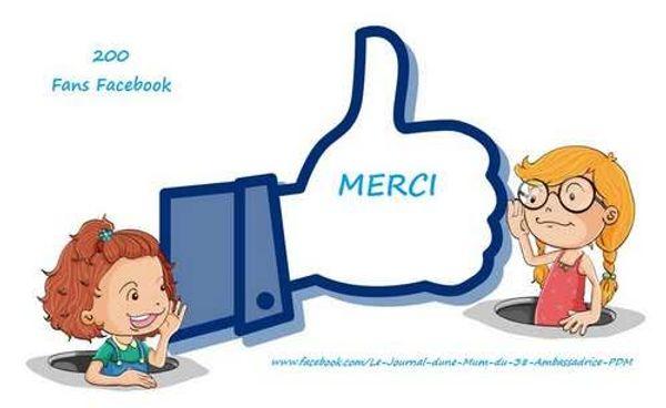 200 Fans Facebook !!!!